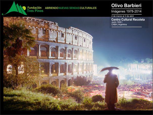 Con el auspicio de la Fundación Tres Pinos se presenta por primera vez en nuestro país una gran retrospectiva  del fotógrafo italiano Olivo Barbieri.