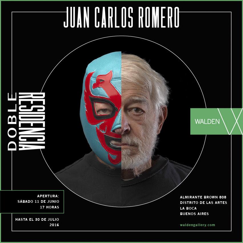 Juan Carlos Romero-Doble Residencia en Galería Walden. Distrito de las Artes. La Boca