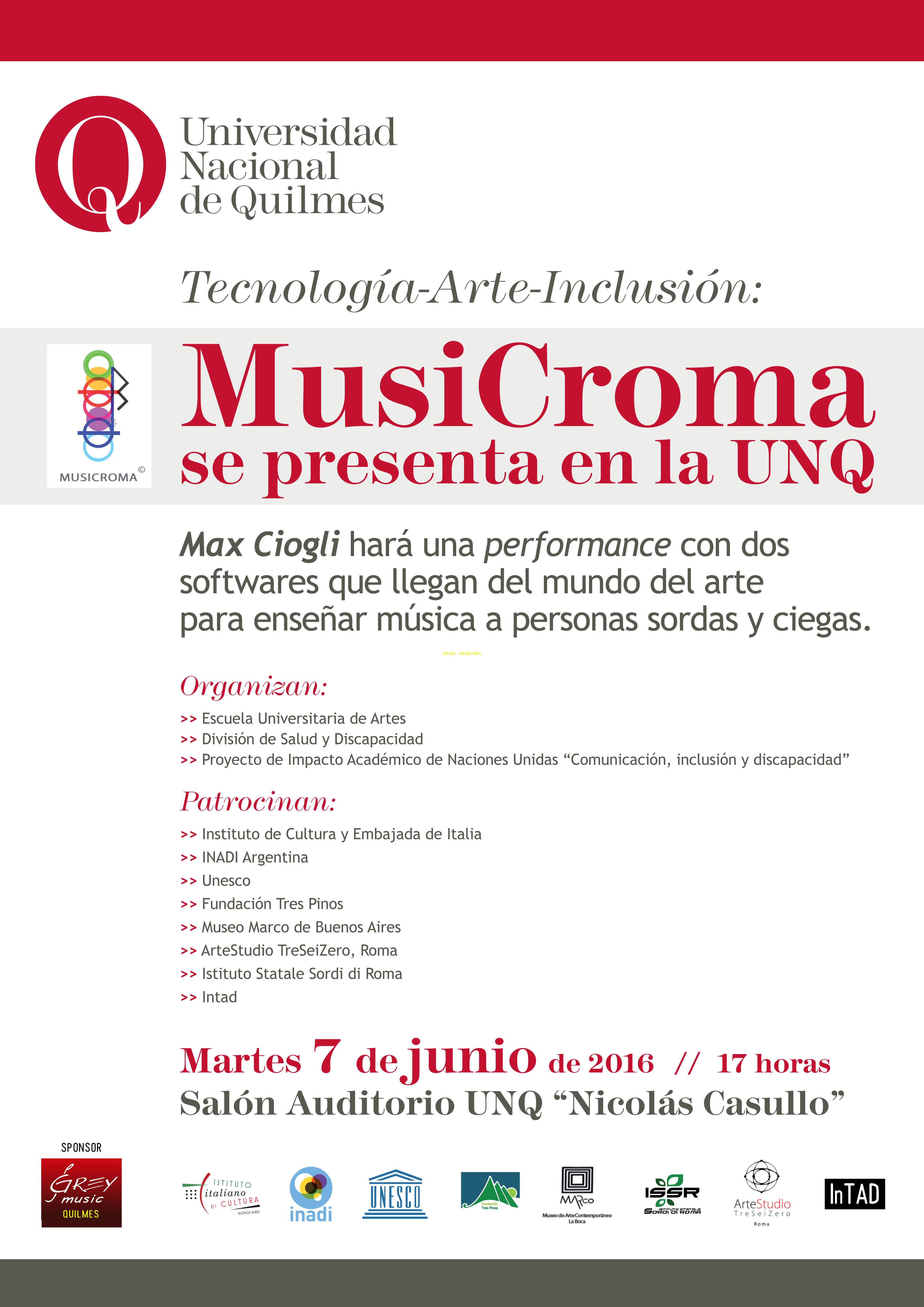 Afiche Musicroma