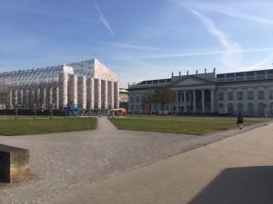 El Partenón en la plaza Friedrichplatz