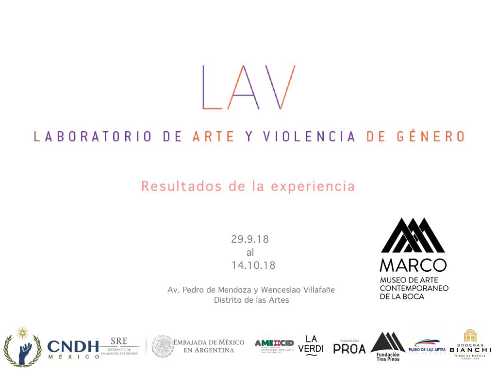 LAV – Laboratorio de arte y violencia de género