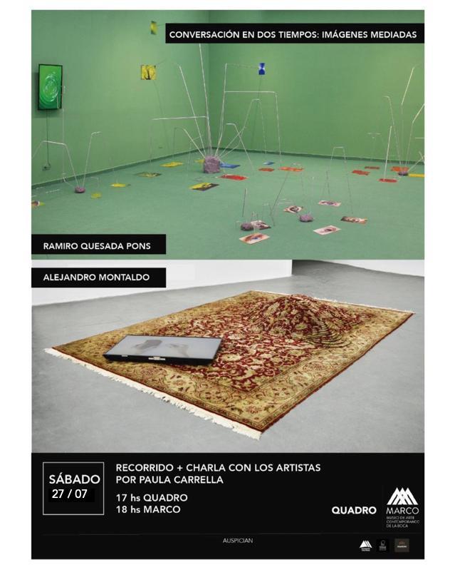 Conversación en dos tiempos: imágenes mediadas// Ramiro Quesada Pons y Alejandro Montaldo