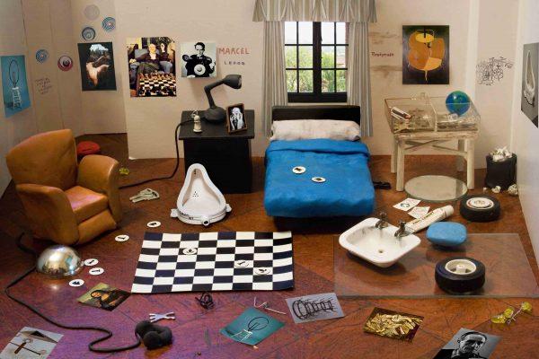 5-Habitación de fanático de marcel Duchamp